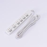 LEDスイッチ6口タップアダプター対応 3.0m