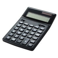 12桁卓税機能付き CA-211T BK
