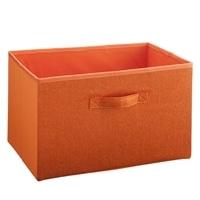 K10 ファブリックボックス オレンジ