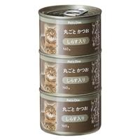 Pet'sOne キャットミール 丸ごとかつお しらす入り 160g 3缶パック