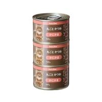 Pet'sOne キャットミール 丸ごとかつお かにかま入り 160g 3缶パック