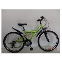 【自転車】【全国配送】マウンテンバイク BANFF(バンフ) 外装18段 26インチ グリーン【別送品】