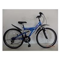 【自転車】【全国配送】マウンテンバイク BANFF(バンフ) 外装18段 26インチ ブルー【別送品】