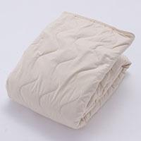 ベッドパッド ウール100% ダブル 140×200