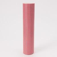 サッと拭けるキッチンマット 45×240cm ギンガム