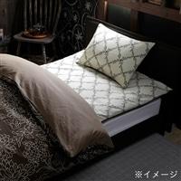 【数量限定】敷布団カバー エレガンス シングル 105×205 ベージュ