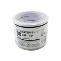 透明テープ15mm×35m・5巻 TP1535