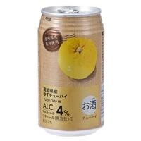 【ケース販売】高知県産ゆずチューハイ350ml×24本