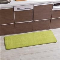 低反発ふんわりキッチンマット 45×180 グリーン