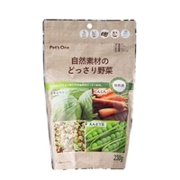 Pet'sOne 自然素材のどっさり野菜 230g