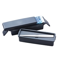 保冷剤付きランチボックス 2段 820ml BK CZ-0232