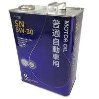【SU】普通自動車用エンジンオイル SN 5W-30 4L【別送品】