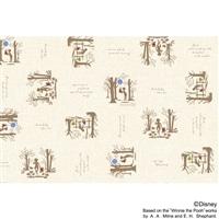 【切り売り10cm単位】テーブルクロス カインズオリジナル柄 クリストファーロビン 幅120cm【別送品】