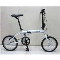 【自転車】【全国配送】折りたたみ自転車 COEUR�U(コユール�U) ホワイト【別送品】