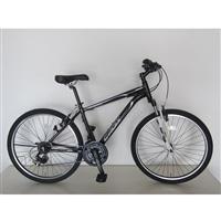【自転車】アルミマウンテンバイク CROIX(クロア) 26インチ ブラック