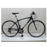 【自転車】クロスバイク LECCO(レッコ) 700C ブラック【別送品】