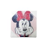 ウォールポスター ミニーマウス 20×20