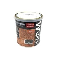 屋外木部保護塗料 ウッディーカラーズ プロテクト 0.7L ブラック