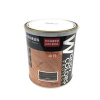 屋外木部保護塗料 ウッディーカラーズ プロテクト 1.6L ブラック