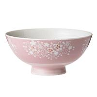 ごはんがつきにくい茶碗 小 はなざかり ピンク