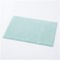さらっと快適 タオルバスマット 45×65 ブルー