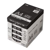 写真もきれいな高白色コピー用紙A4 5束入(2500枚)【別送品】