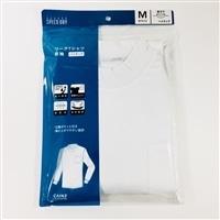 スピードドライ ワークTシャツ ハイネック PC ホワイト M