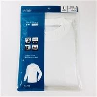 スピードドライ ワークTシャツ ハイネック PC WH L