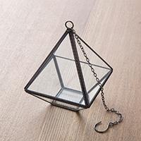 【trv】テラリウムハンギングボックス ピラミッド型