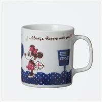 【数量限定】デザインが変わる魔法のマグカップ200ml ミッキー&ミニー ハート