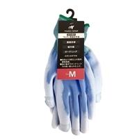 指先補強ウレタン背抜き手袋 M
