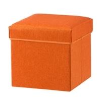 【数量限定】N7 収納スツール オレンジ