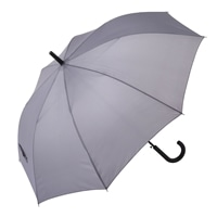 【数量限定】折れにくい ジャンプ傘 65cm グレー