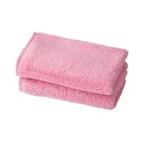 ふんわりハンドタオル2枚組 ピンク