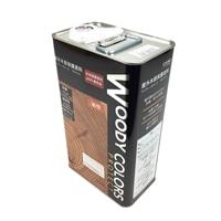 屋外木部保護塗料 ウッディーカラーズ プロテクト 4L パーフェクトホワイト