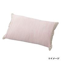 のびのびニット枕カバー ピンク 35×55(筒型)
