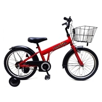 【自転車】【全国配送】補助輪付き子供用自転車 FECHTER(フェクター) 14インチ レッド【別送品】
