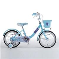 【自転車】【全国配送】補助輪付き子供用自転車 Jewel Box�V(ジュエルボックス�V) 14インチ ブルー【別送品】