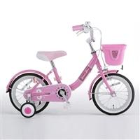 【自転車】【全国配送】補助輪付き子供用自転車 Jewel Box�V(ジュエルボックス�V) 16インチ ピンク【別送品】