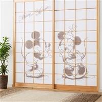 ディズニー 障子紙 ミッキー & ミニー 92×184cm