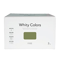 【ネット限定】室内用塗料 ホワイティカラーズ 2kg 鶯【別送品】