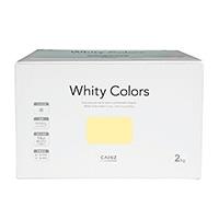 【Web限定】CAINZ 室内用塗料 ホワイティカラーズ 2kg アプリコットライト【別送品】