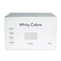 【Web限定】CAINZ 室内用塗料 ホワイティカラーズ 4kg オフホワイト【別送品】