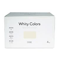【Web限定】CAINZ 室内用塗料 ホワイティカラーズ 4kg コットン【別送品】