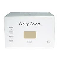 【Web限定】CAINZ 室内用塗料 ホワイティカラーズ 4kg ホワイトモール【別送品】