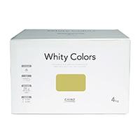 【Web限定】CAINZ 室内用塗料 ホワイティカラーズ 4kg ストロー【別送品】