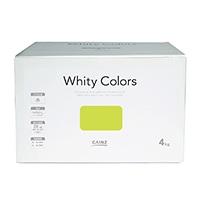 【Web限定】CAINZ 室内用塗料 ホワイティカラーズ 4kg ライム【別送品】