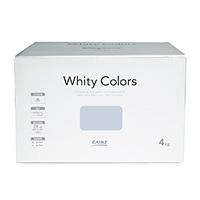【Web限定】CAINZ 室内用塗料 ホワイティカラーズ 4kg アイスグレー【別送品】
