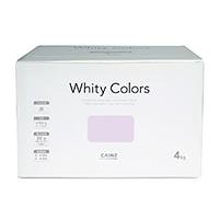 【Web限定】CAINZ 室内用塗料 ホワイティカラーズ 4kg ライラック【別送品】