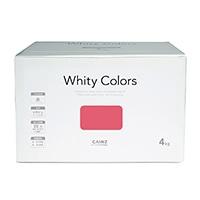 【Web限定】CAINZ 室内用塗料 ホワイティカラーズ 4kg ベリーピンク【別送品】